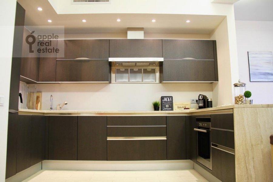 Kitchen of the 4-room apartment at Mosfil'movskaya ulitsa 70k3