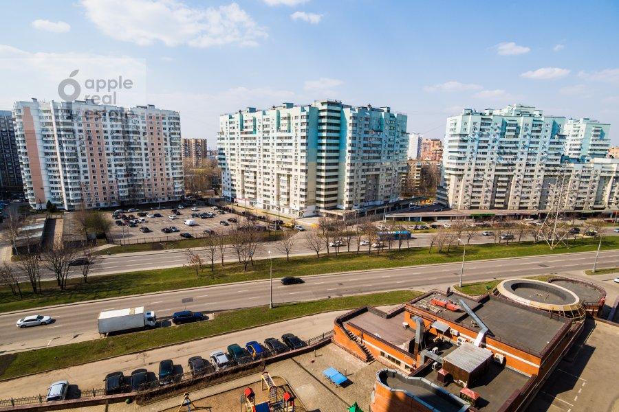 Вид из окна в 4-комнатной квартире по адресу Архитектора Власова ул. 20