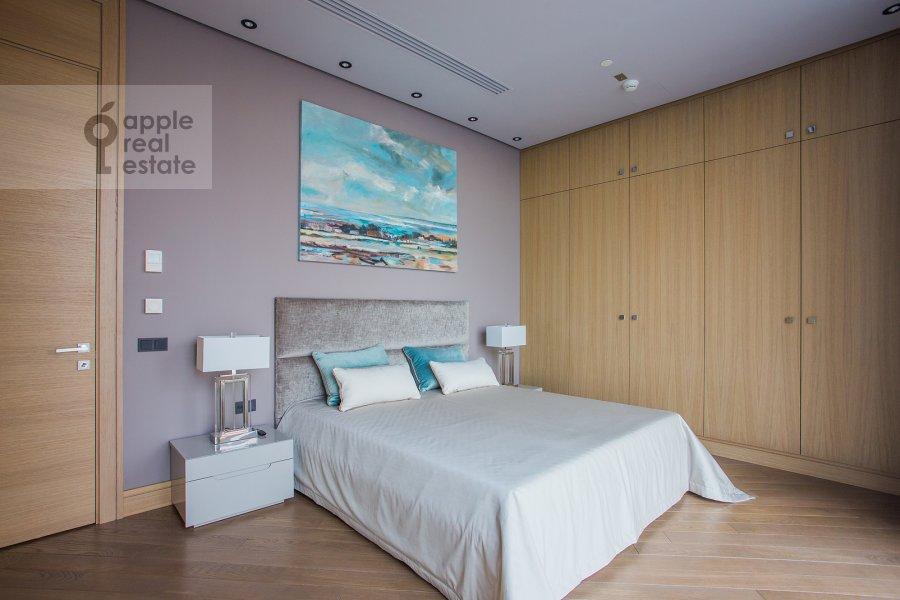 Спальня в 3-комнатной квартире по адресу Пресненская набережная 12