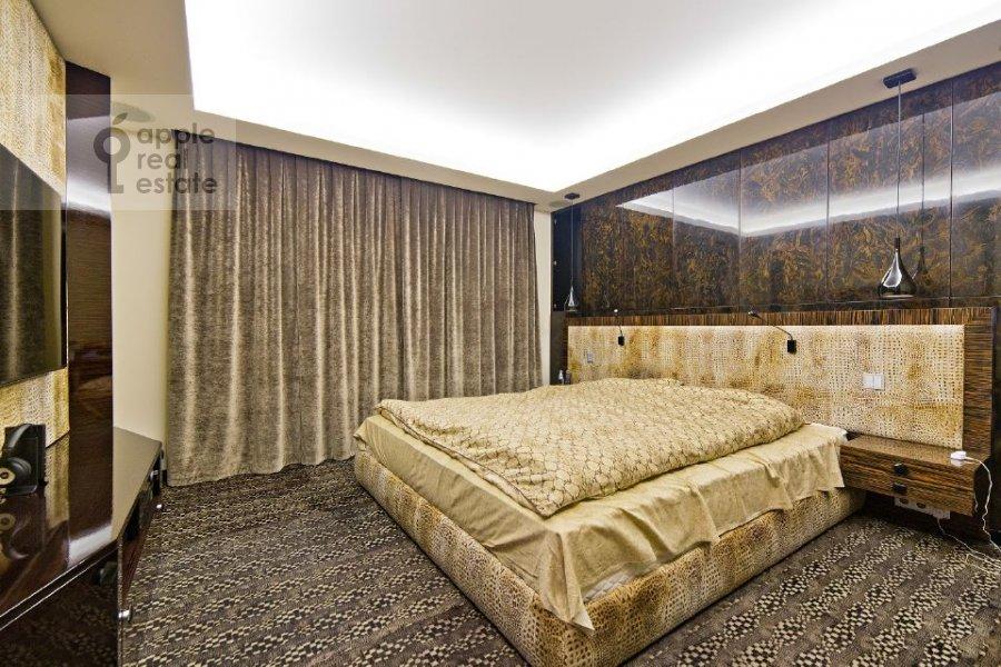 Спальня в 4-комнатной квартире по адресу переулок Капранова 4