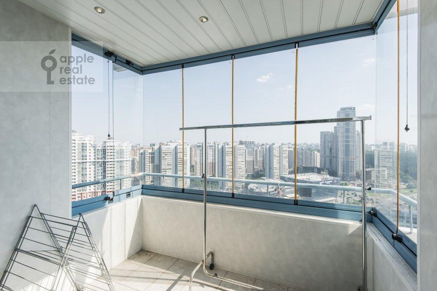 Balcony / Terrace / Loggia of the 4-room apartment at Leninskiy prospekt 128k1