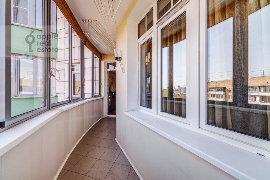 Balcony / Terrace / Loggia of the 3-room apartment at Slesarnyy per. 3