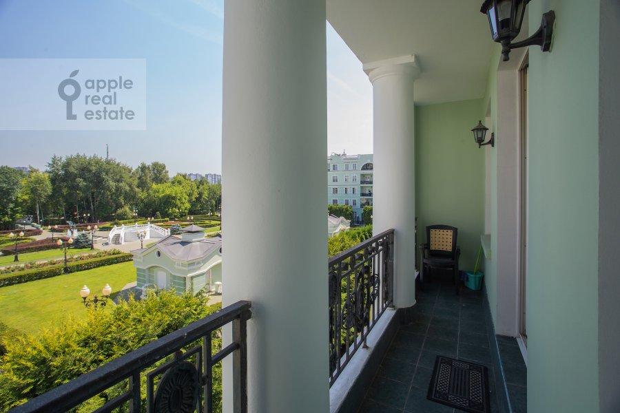 Balcony / Terrace / Loggia of the 3-room apartment at Beregovaya ul. 8k1