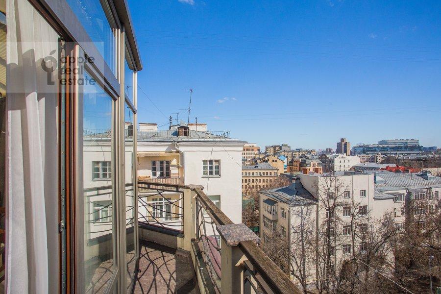 Балкон / Терраса / Лоджия в 2-комнатной квартире по адресу Машкова улица 6с1