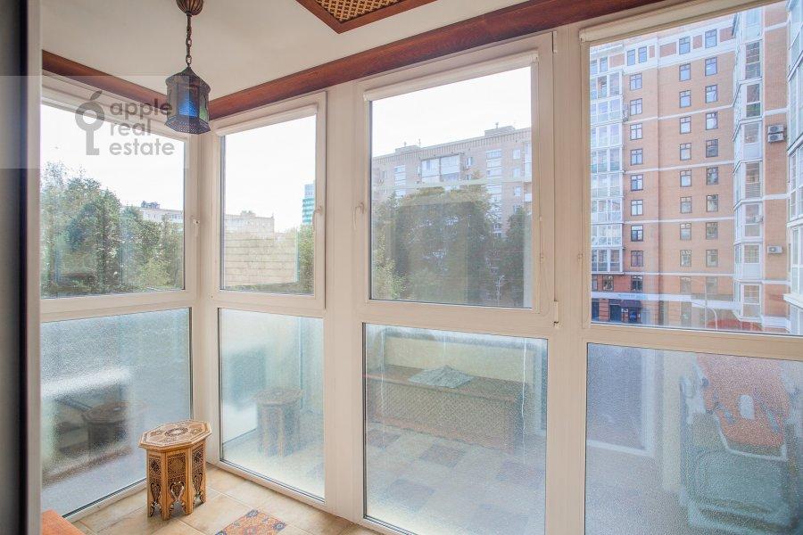 Balcony / Terrace / Loggia of the 3-room apartment at Gilyarovskogo 50