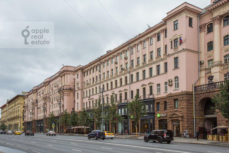 Photo of the house of the 5-room apartment at Tverskaya ulitsa 27s1