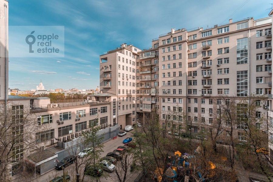 Photo of the house of the studio apartment at Serafimovicha ul. 2