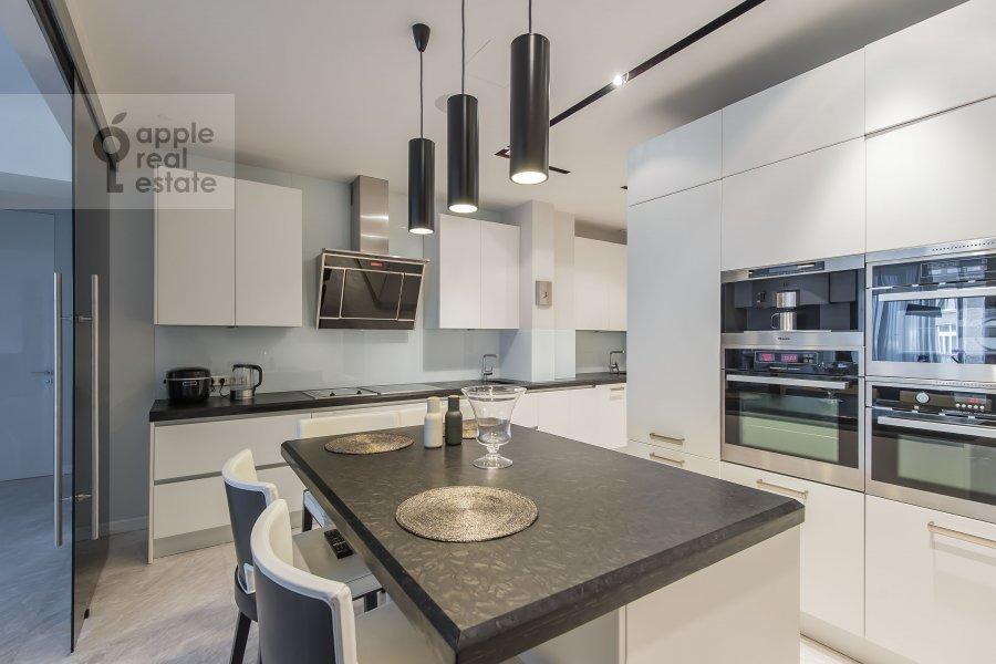 Kitchen of the 4-room apartment at Bryusov pereulok 19