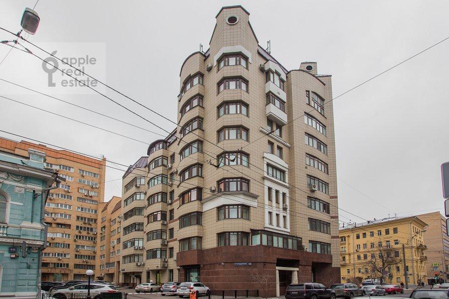 Photo of the house of the 4-room apartment at 3-ya Tverskaya-Yamskaya ulitsa 44