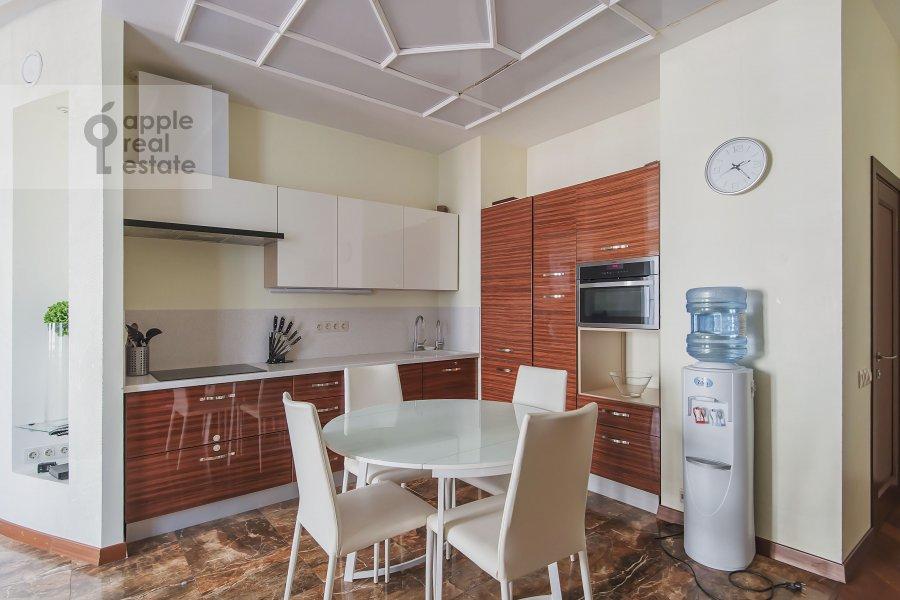 Kitchen of the 4-room apartment at Mytnaya ulitsa 7s1
