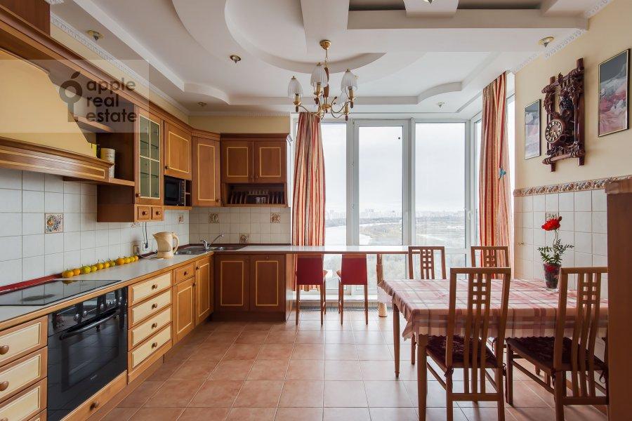 Kitchen of the 4-room apartment at Aviatsionnaya ulitsa 79A