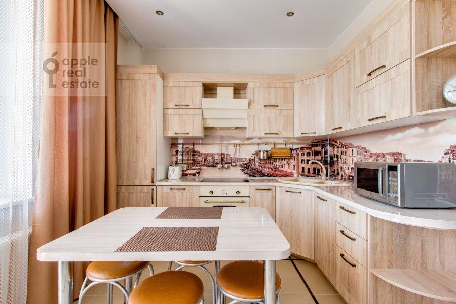 Кухня в 2-комнатной квартире по адресу Рублевское шоссе 70к5