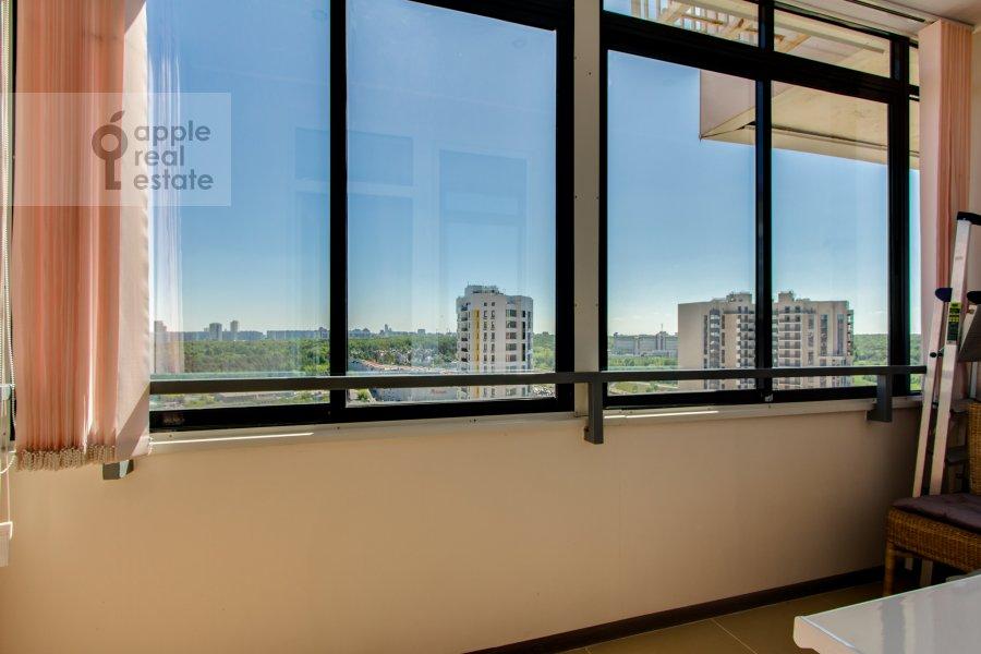 Балкон / Терраса / Лоджия в 2-комнатной квартире по адресу Рублевское шоссе 70к5