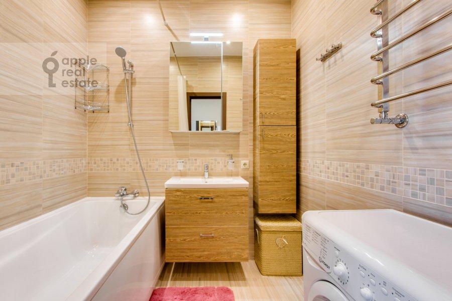 Санузел в 2-комнатной квартире по адресу Рублевское шоссе 70к5