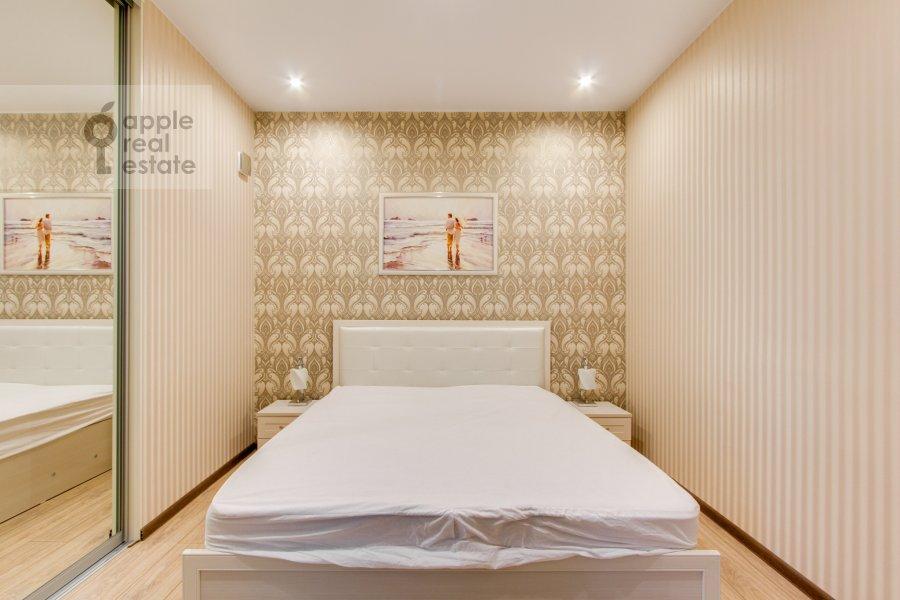 Спальня в 2-комнатной квартире по адресу Рублевское шоссе 70к5