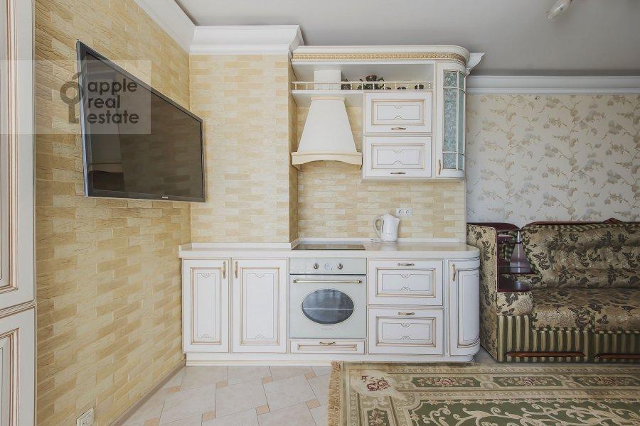 Kitchen of the 3-room apartment at Khoroshevskoe shosse 12s1