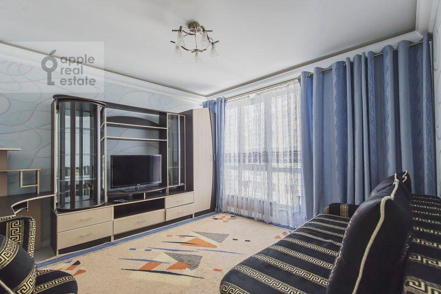 Children's room / Cabinet of the 3-room apartment at Khoroshevskoe shosse 12s1