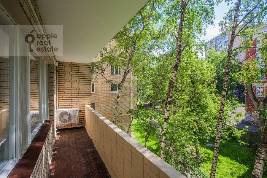 Balcony / Terrace / Loggia of the 3-room apartment at naberezhnaya Tarasa Shevchenko 3s3