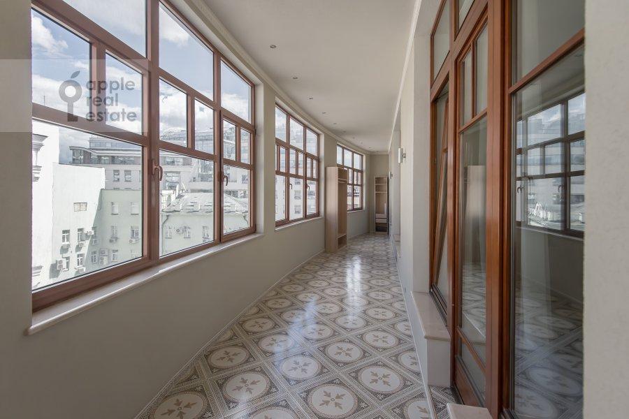 Balcony / Terrace / Loggia of the 3-room apartment at Dmitrovskiy pereulok 7
