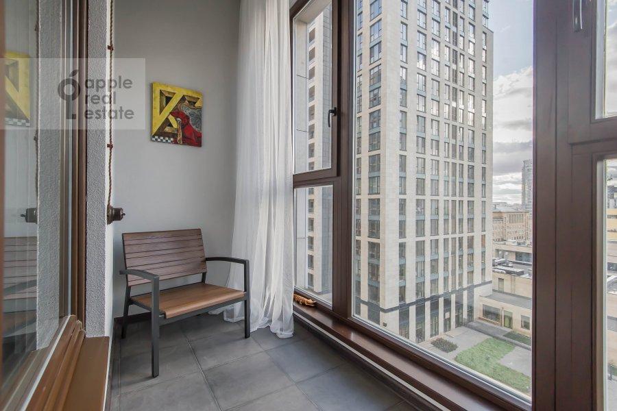 Балкон / Терраса / Лоджия в квартире-студии по адресу 2-я Черногрязская улица 6к3
