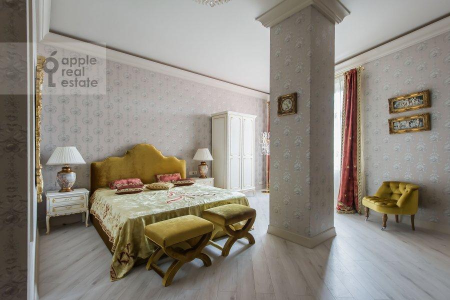 Спальня в 3-комнатной квартире по адресу Мичуринский пр-т. 6к3