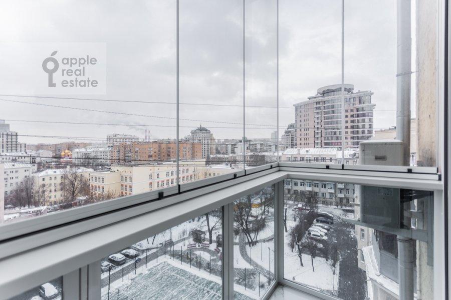 Balcony / Terrace / Loggia of the 3-room apartment at Novinskiy bul'var 7