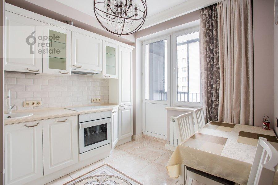 Kitchen of the 2-room apartment at Presnenskiy Val 14k4