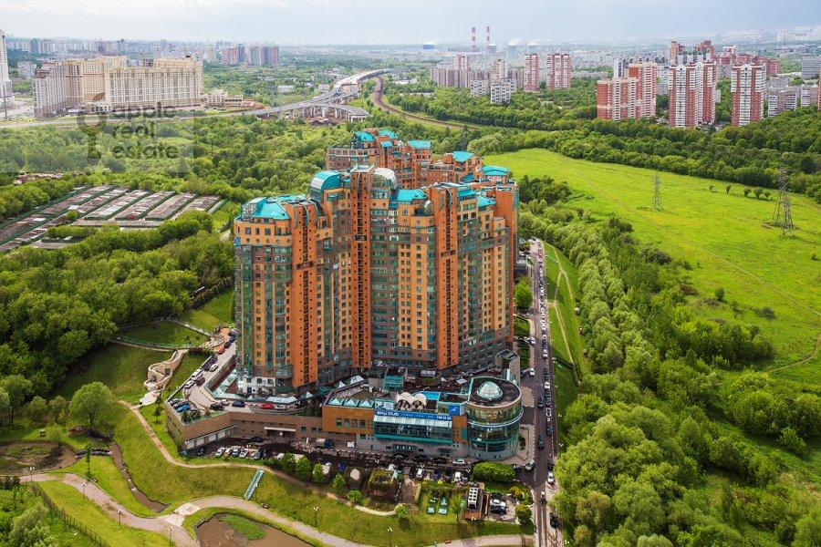 Photo of the house of the 4-room apartment at Minskaya ulitsa 1gk2