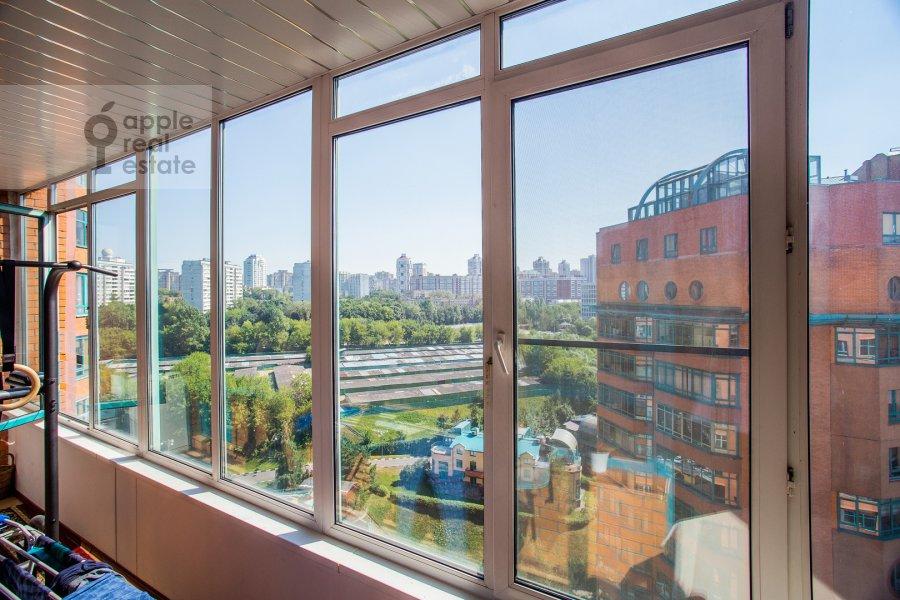 Balcony / Terrace / Loggia of the 4-room apartment at Minskaya ulitsa 1gk2