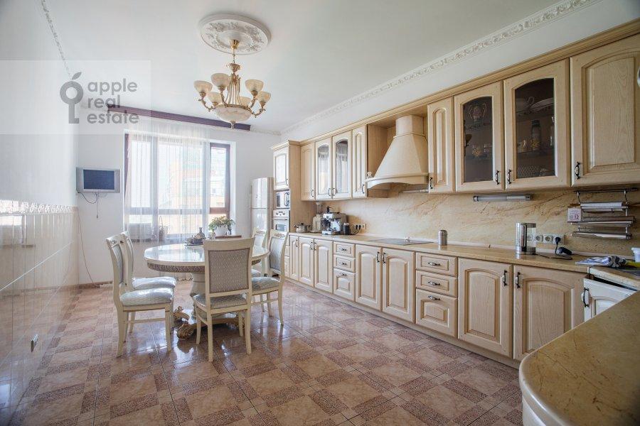 Kitchen of the 4-room apartment at Minskaya ulitsa 1gk2