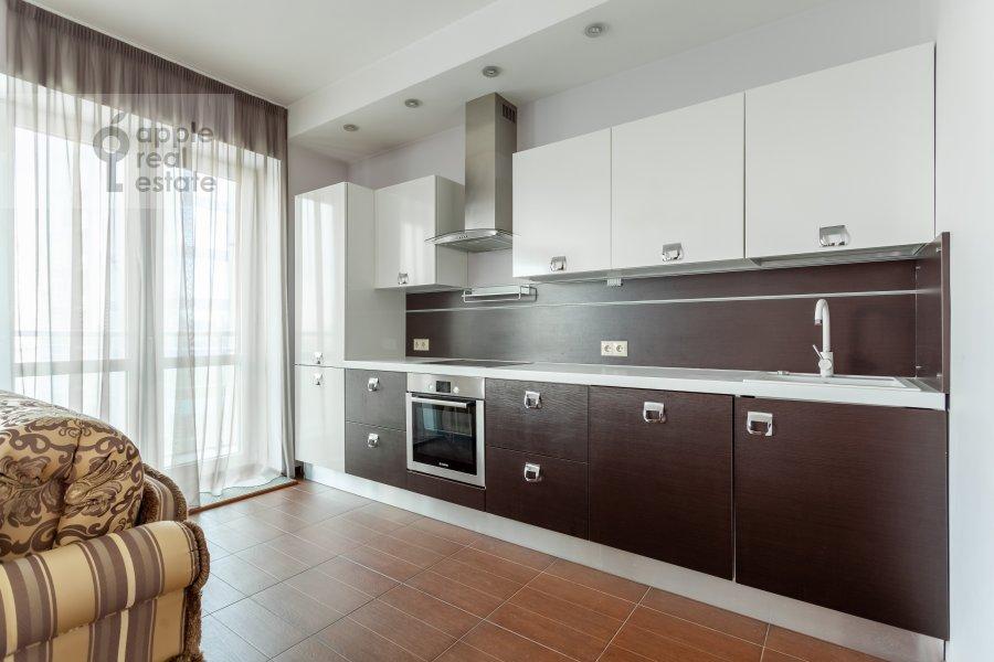 Kitchen of the 2-room apartment at Nezhinskaya ulitsa 1k3