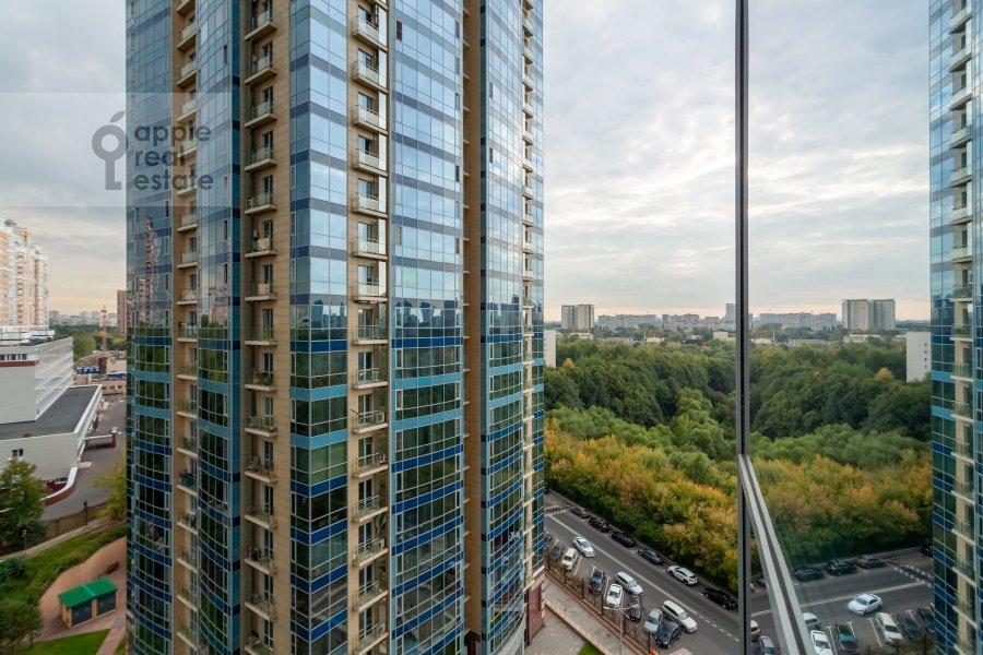 View from the window of the 2-room apartment at Nezhinskaya ulitsa 1k3