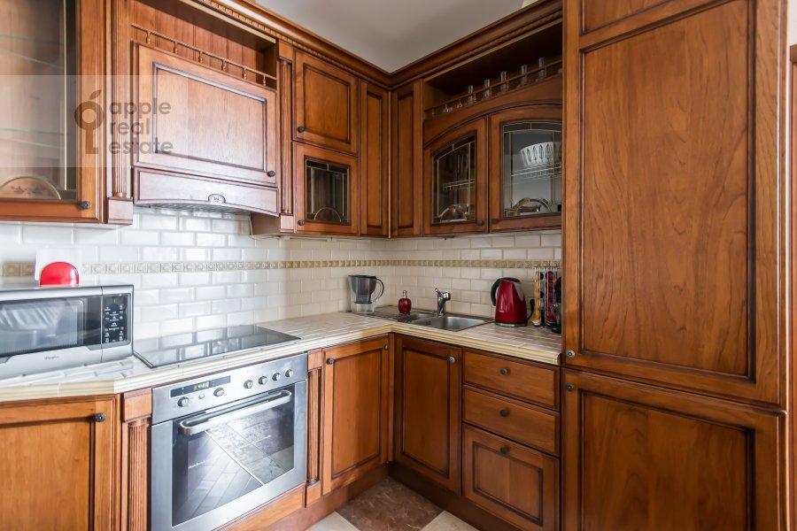 Kitchen of the 3-room apartment at Leningradskiy pr-t. 76k2