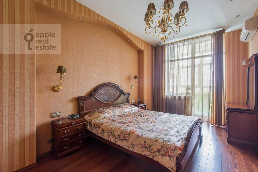 Bedroom of the 3-room apartment at Leningradskiy pr-t. 76k2