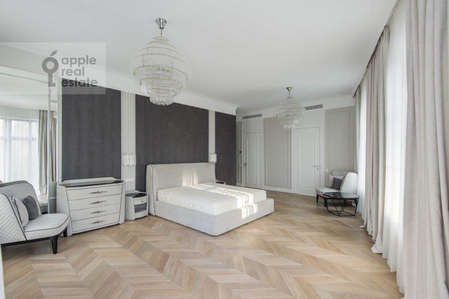 Спальня в 5-комнатной квартире по адресу Нащокинский переулок 7