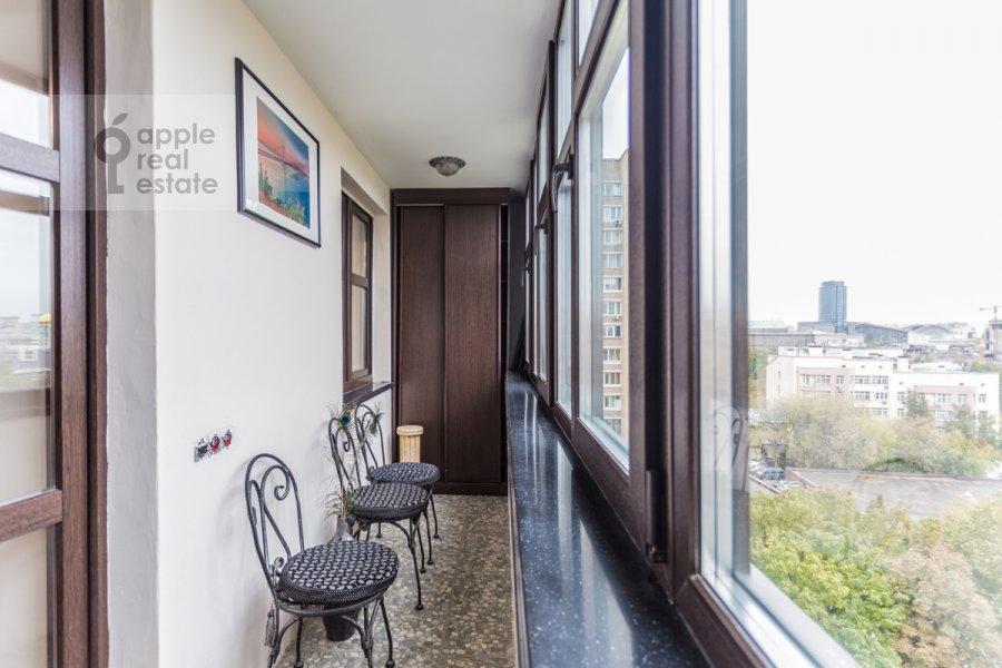 Балкон / Терраса / Лоджия в 2-комнатной квартире по адресу Делегатская 11