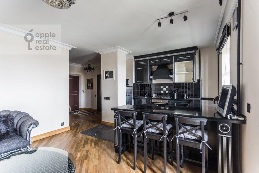 Кухня в 2-комнатной квартире по адресу Делегатская 11