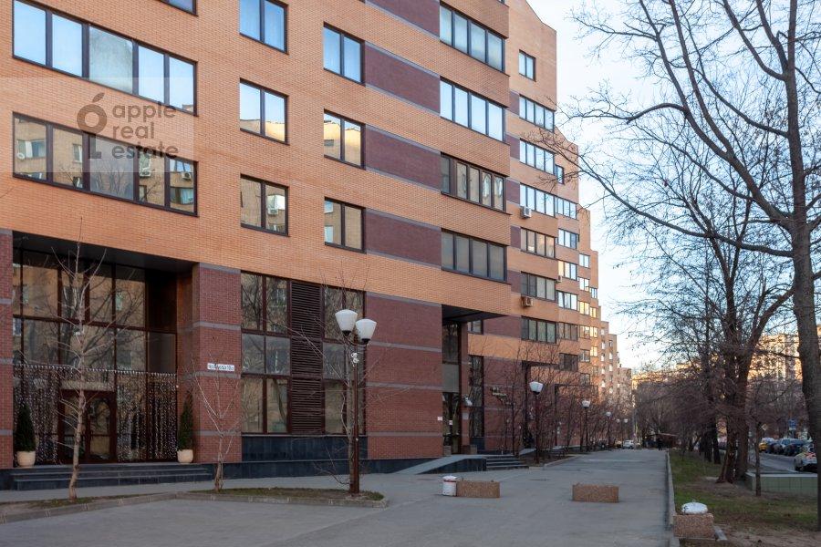 Photo of the house of the 3-room apartment at Ruzheynyy pereulok 3