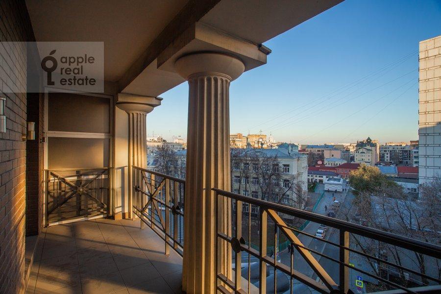 Балкон / Терраса / Лоджия в 3-комнатной квартире по адресу Малая Полянка 2