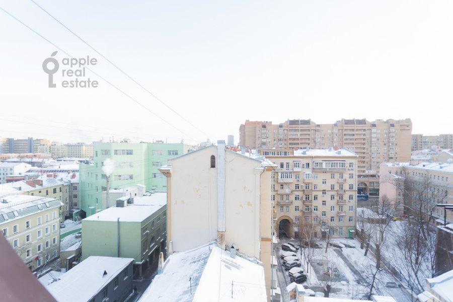 Вид из окна в 5-комнатной квартире по адресу Весковский пер. 2