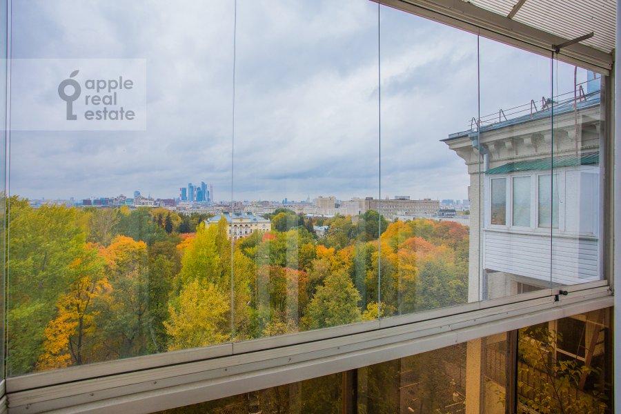Balcony / Terrace / Loggia of the 2-room apartment at Leninskiy pr-t. 16