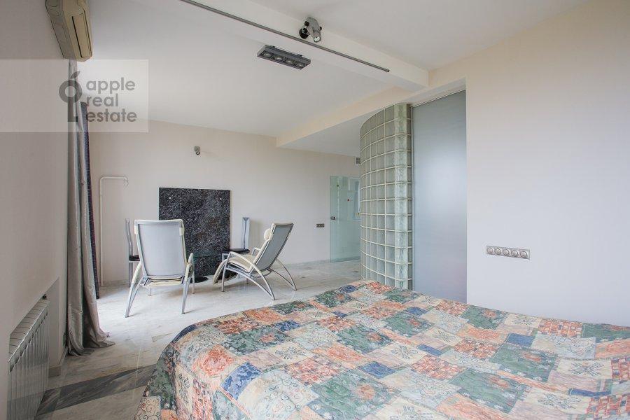 Bedroom of the 2-room apartment at Leninskiy pr-t. 16