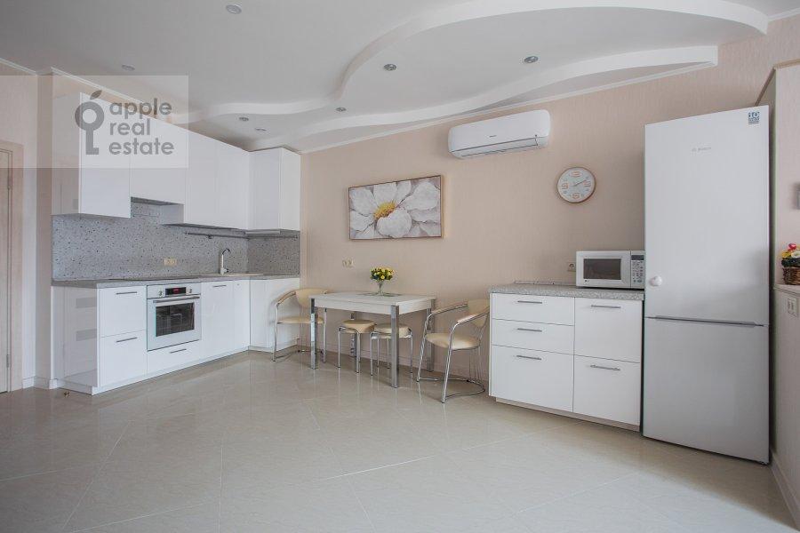 Kitchen of the studio apartment at Marshala Rybalko ul. 2k6