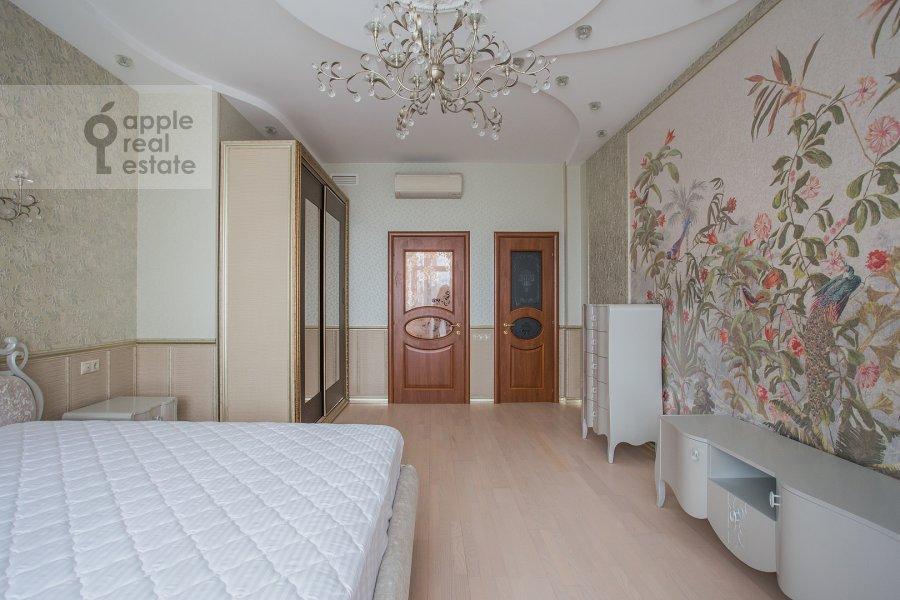 Спальня в 3-комнатной квартире по адресу Шмитовский проезд 16стр1