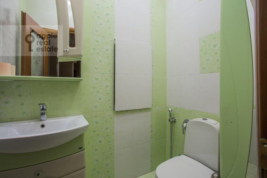 Санузел в 3-комнатной квартире по адресу Шмитовский проезд 16стр1