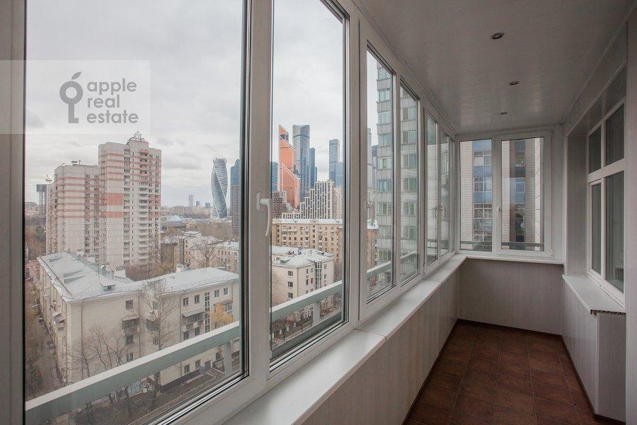 Балкон / Терраса / Лоджия в 3-комнатной квартире по адресу Шмитовский проезд 16стр1