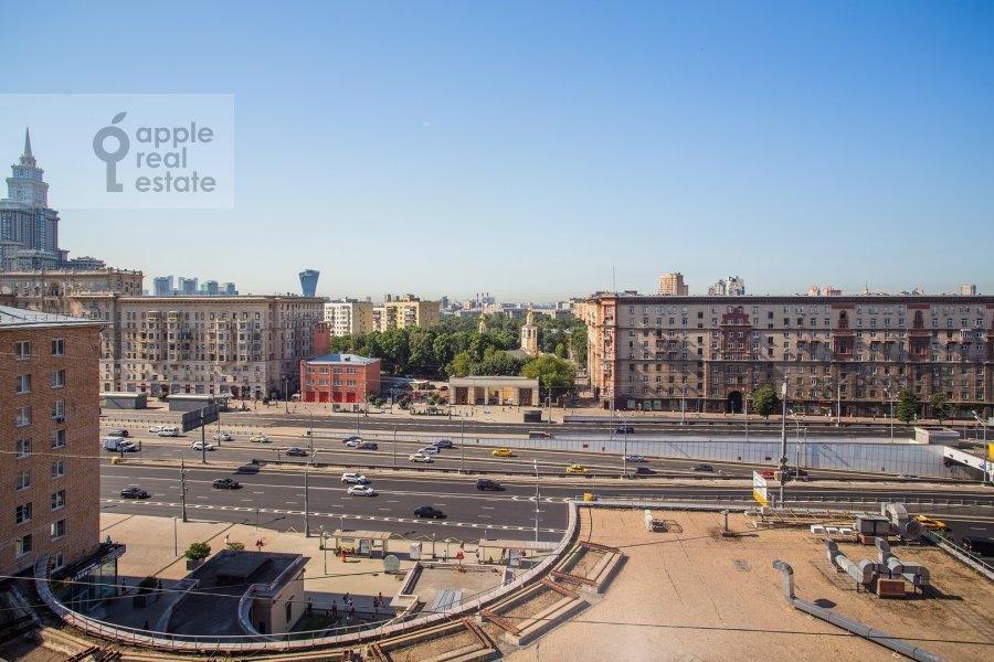 Вид из окна в 3-комнатной квартире по адресу Ленинградский проспект 76к1