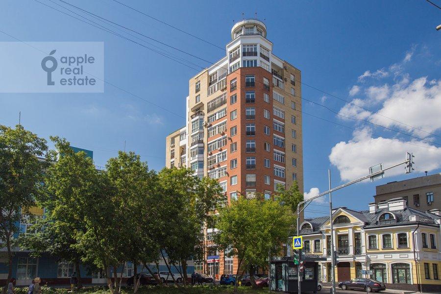 Photo of the house of the 5-room apartment at Taganskaya ulitsa 36k2