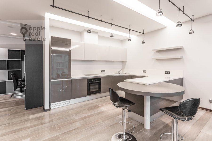 Кухня в 2-комнатной квартире по адресу Нежинская 1к3