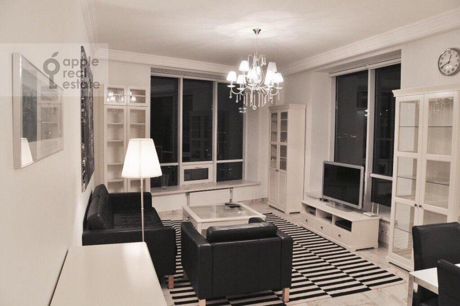 Гостиная в 3-комнатной квартире по адресу Кочновский проезд 4к1